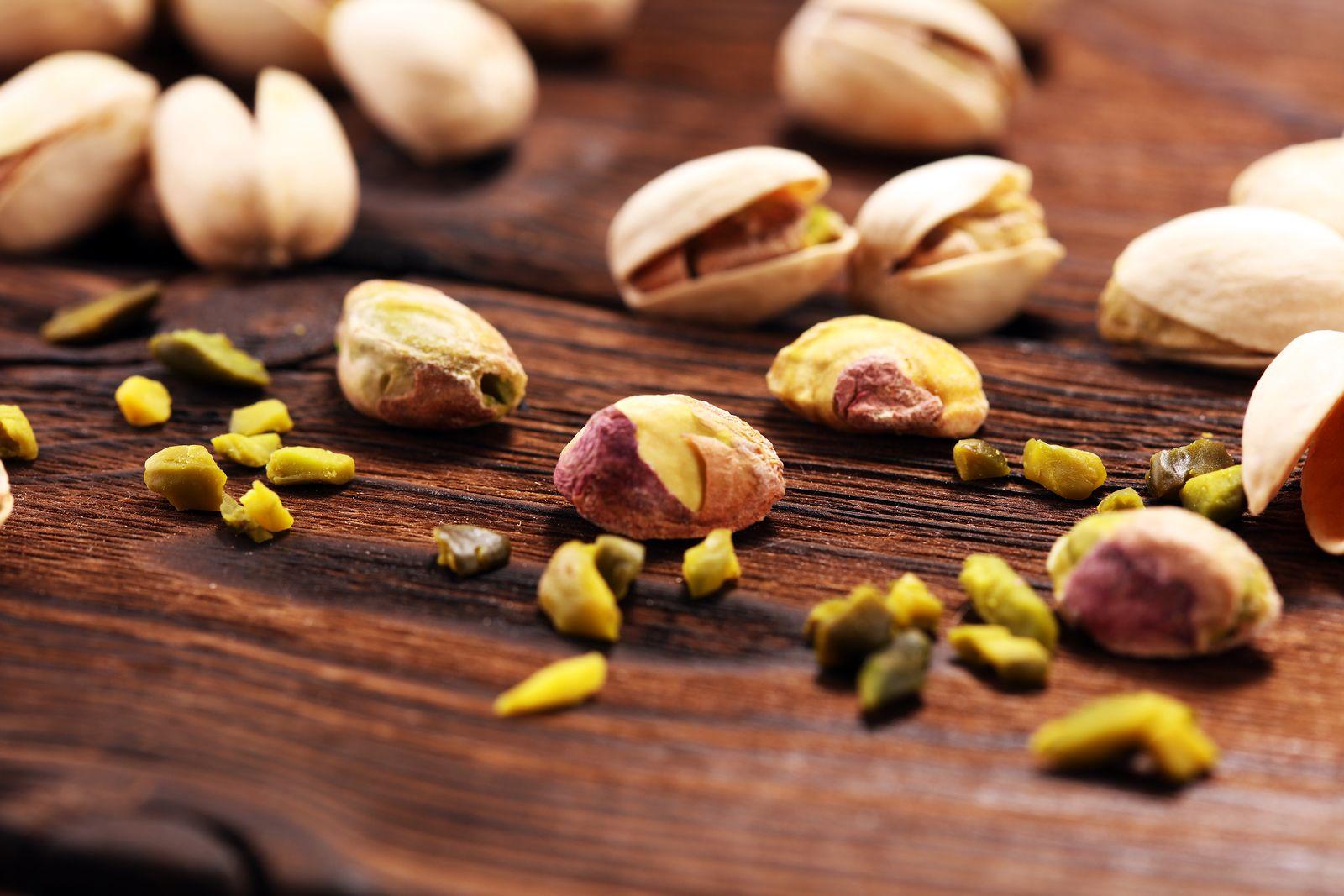 Los pistachos con Zinc combaten a los virus